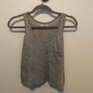 Madewell cropped tank xs
